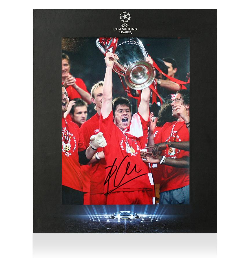 Champions League: XABI ALONSO OFFICIAL UEFA Champions League Signed