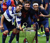 MSN: Messi, Suarez, Neymar