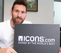 Lionel Messi Framed Memorabilia