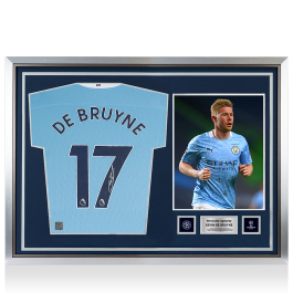 Kevin De Bruyne Official UEFA Champions League Signed and ...