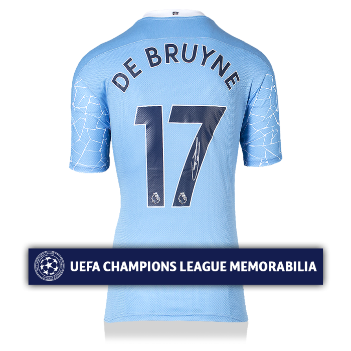 Kevin De Bruyne Official UEFA Champions League Signed ...