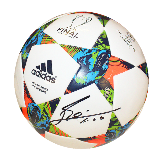 Lionel Messi Official Signed 2015 UEFA Champions League ...