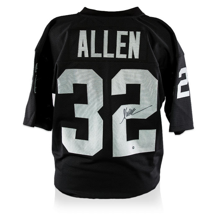 Marcus Allen Back Signed Oakland Raiders Jersey