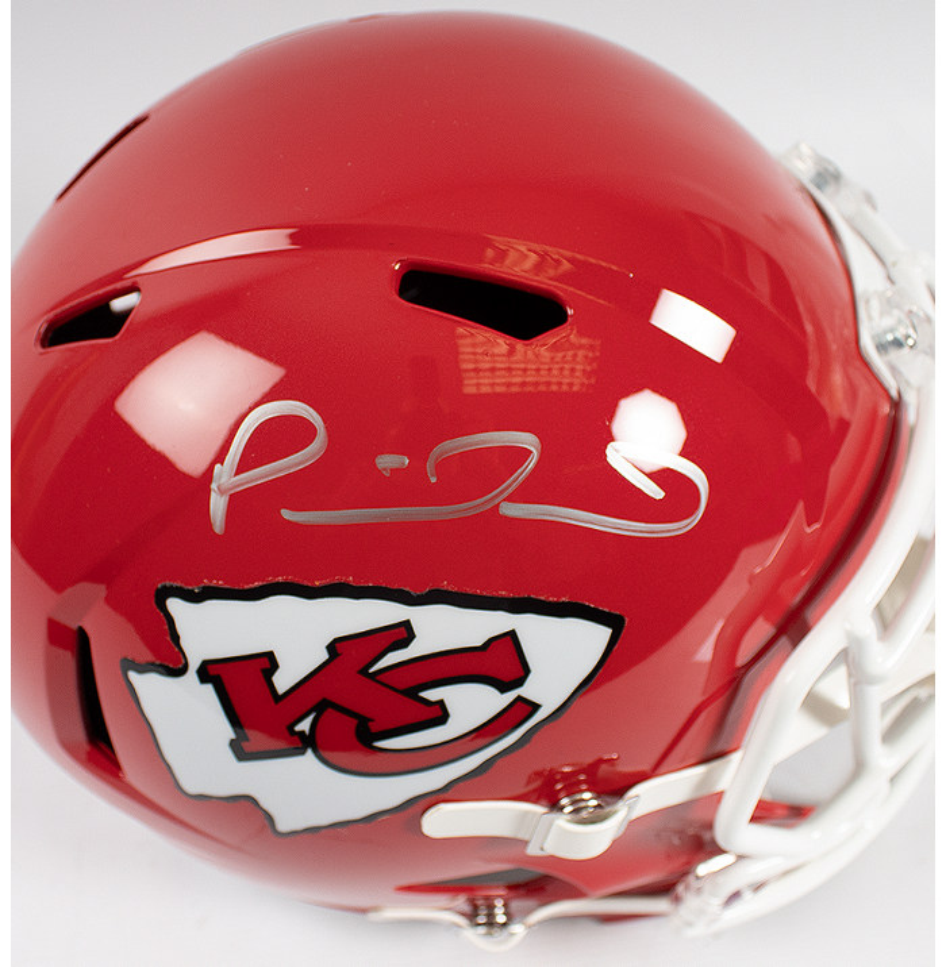 Patrick Mahomes Signed Full Size Kansas City Chiefs Helmet