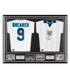 Frame Type Clinton Framed Tee 6\u2033x4\u2033 Photos /& Title Sport Gifts Shirts Football Shirt Display Frames for 2 Signed Shirts with 2