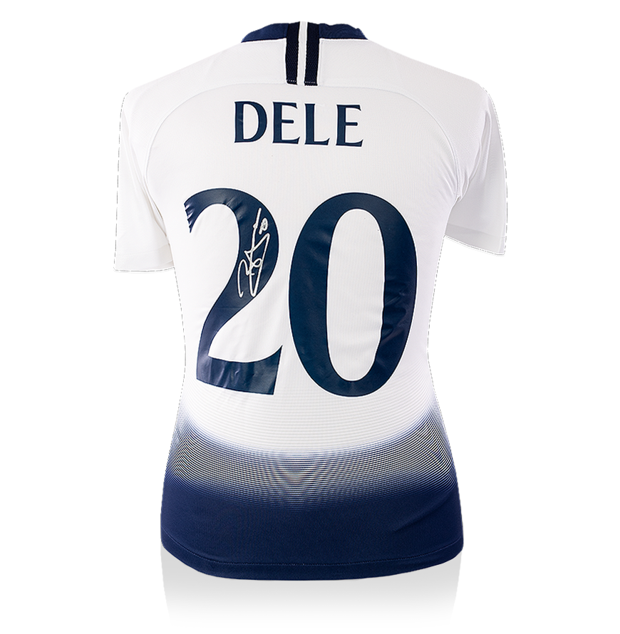 Dele Alli Back Signed Tottenham Hotspur 2018 19 Home Shirt Uefa Champions Leagu Ebay