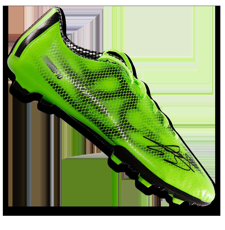 Gareth Bale Signed Adidas F10 Adizero Boot