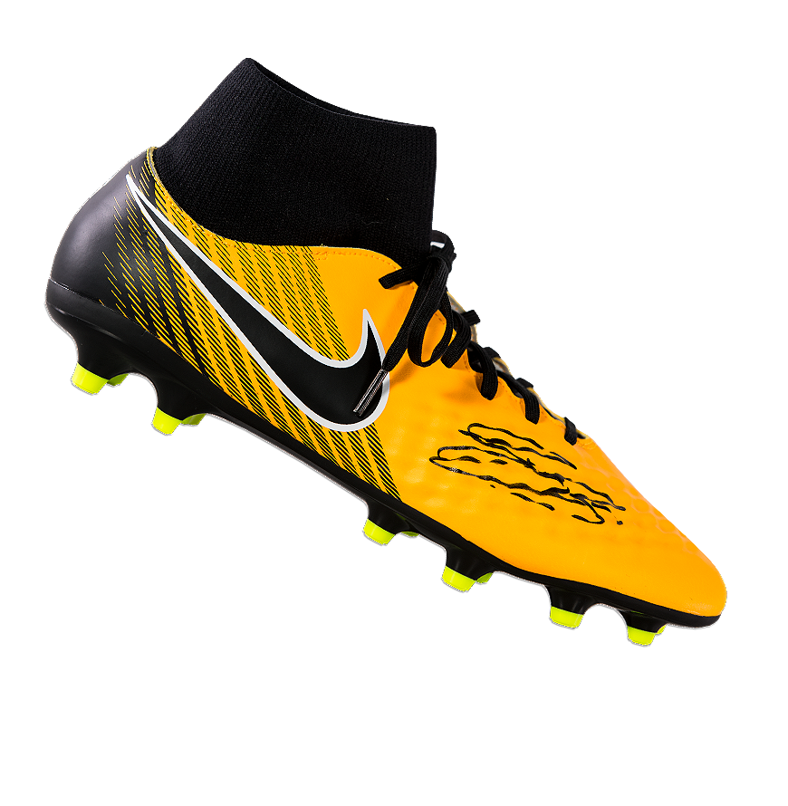 742003bf42ea0 Details about Gary Cahill Official England Black Signed Yellow and Black  Nike Magista Hightop