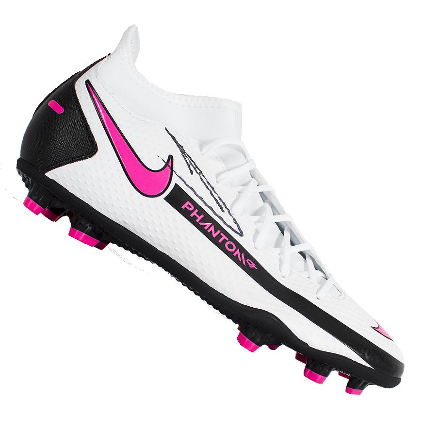Kevin de Bruyne signiert weiß Nike Phantom Boot Autogramm ...