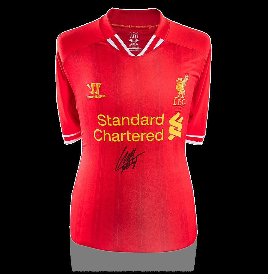 sports shoes 2c7c7 36347 Luis Suarez Genuine Hand Signed Liverpool Shirt Autograph Jersey COA No  Reserve | eBay