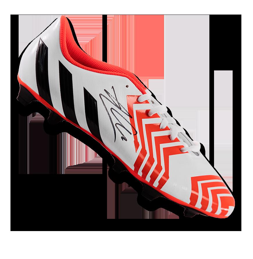 Xabi Alonso Signed White Adidas Predator Boot