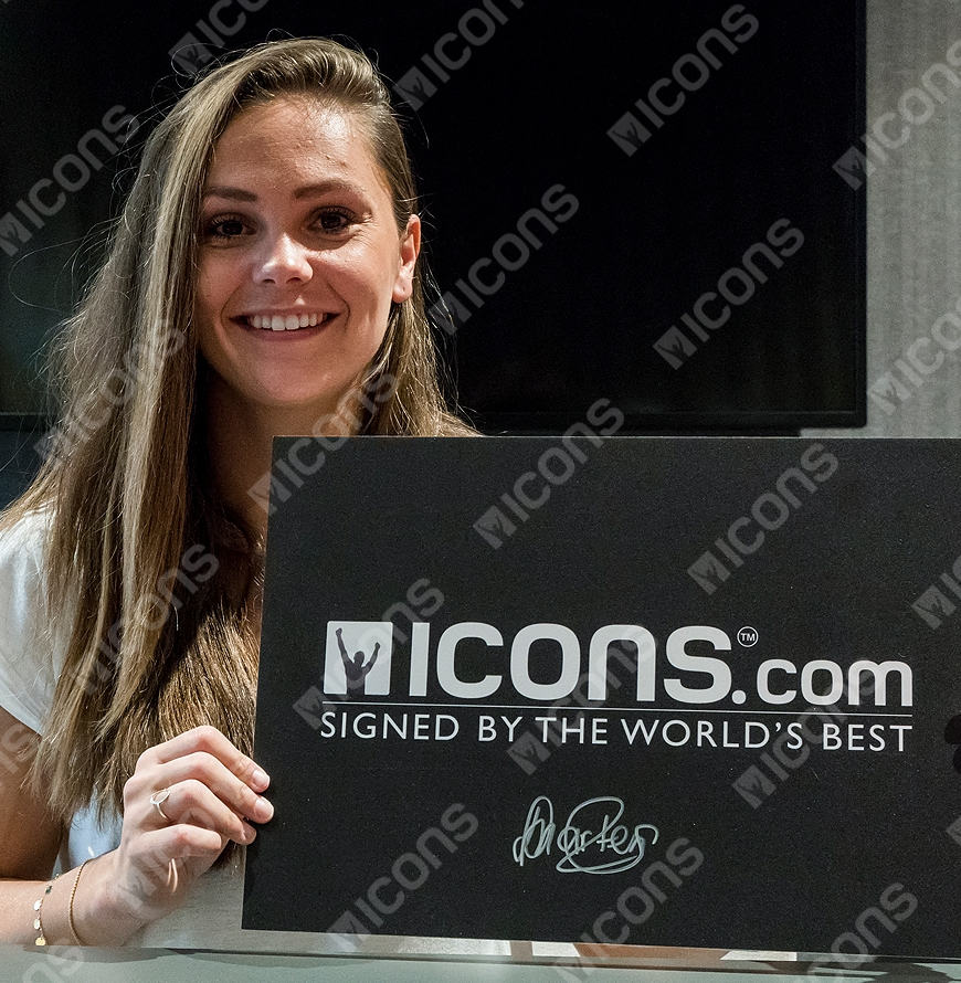 b0a020e69 Lieke Martens Signed Orange Nike Mercurial High Top Boot In Deluxe ...