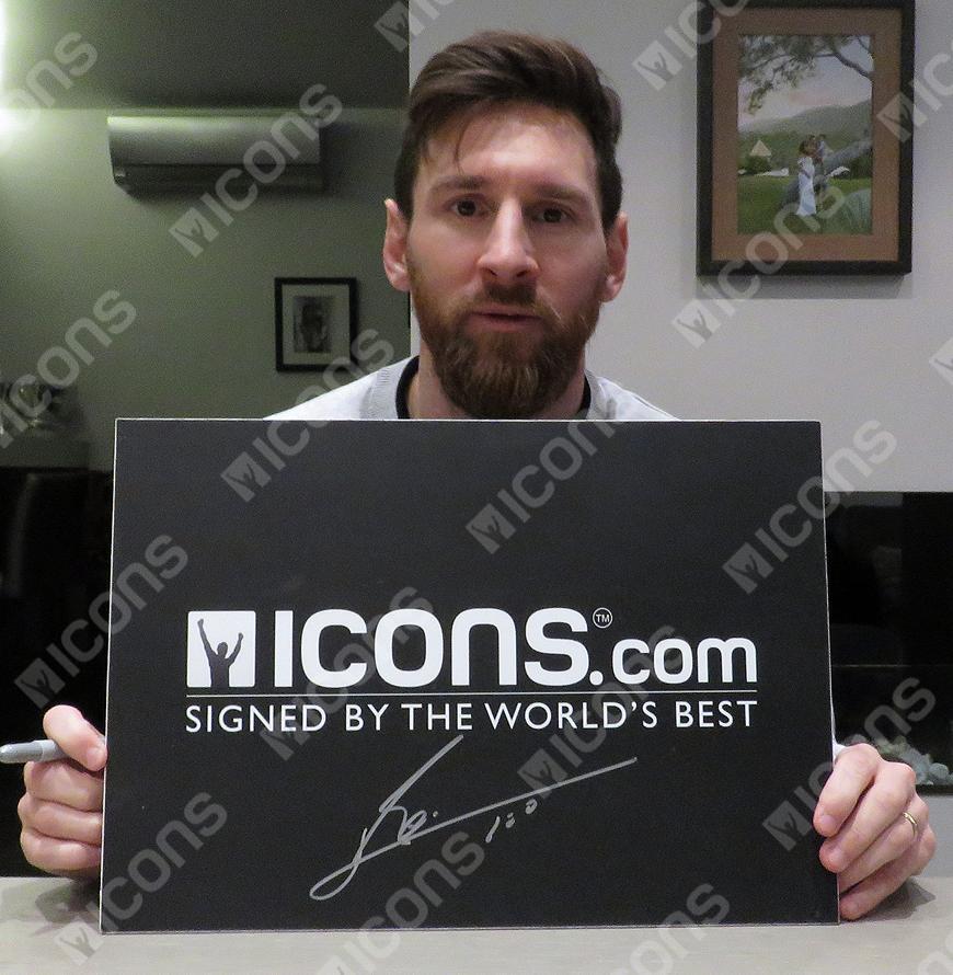 04f705012 Lionel Messi Official Signed FC Barcelona Photo: Legend Autograph | eBay