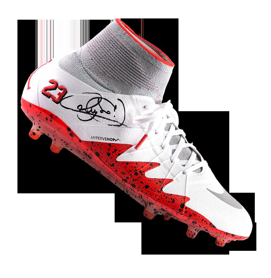 Neymar Jr Signed Nike Hypervenom Phantom II NJR x Jordan ...