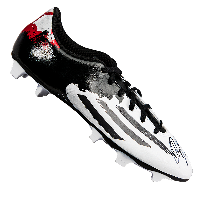 c14980c05af Ryan Giggs Signed Black and White Adidas Boot Autograph Cleat